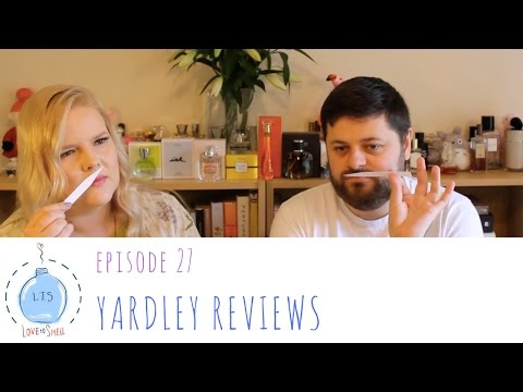 Love to Smell Episode 27: Yardley Reviews