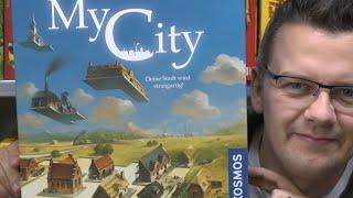 My City (Kosmos) ab 10 (8) Jahre - spoilerfrei -  nominiert zum Spiel des Jahres 2020