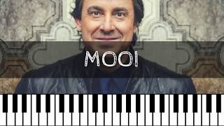 Marco Borsato - Mooi   Piano Tutorial Nederlands
