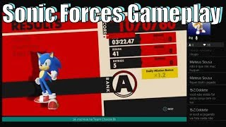 Sonic Forces Gameplay Live for the  First Time