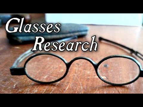 Eyeglasses and Fabric Research – Friday Resource Forum!