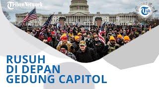 Wiki Trends - Pendukung dan Aparat Bentrok di Gedung Capitol, Trump: Terjadi Jika Kemenangan Dicuri