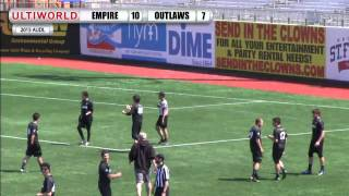 AUDL 2015: Ottawa Outlaws @ New York Empire