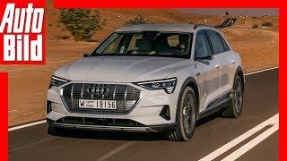 Audi e-tron (2018) Vorstellung / Details / Erklärung