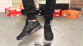 Nike Air Max Tavas - Black - Anthracite - On-feet Video at Exclucity