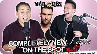 "Maroon 5   ""Girls Like You"" MadLibs Cover (LIVE ONE TAKE!) Ft. Cardi B"