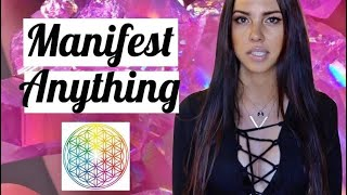 How To Manifest ANYTHING💫 Flower Of Life Method 🌐