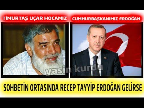 Cumhurbaşkanı Erdoğan Timurtaş Hoca'nın Sohbetinde