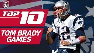 Top 10 Tom Brady Games... So Far   NFL Films