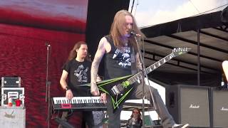 """Children of Bodom Live Knotfest Mexico 2017 """"Red Light in My Eyes"""""""