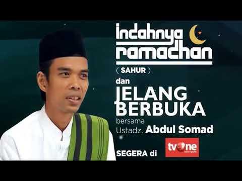 tvOne Memang Beda, Ustadz Abdul Somad akan Tampil Setiap Hari Selama Ramadhan