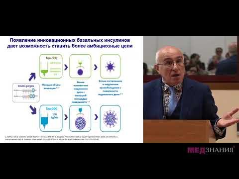03 Комплексный подход в лечении пациентов с сахарным диабетом 2 типа  Коррекция гипергликемии и дисл