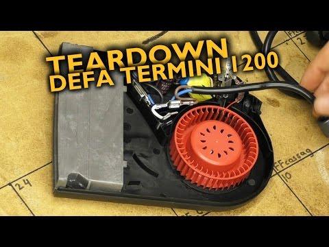 DEFA Termini II 1200 teardown