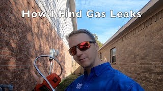 How to Find a Gas Leak