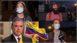 ¿Qué piensan los colombianos de su presidente?