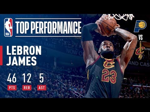 LeBron Flexes His Muscle In EPIC Game 2 Performance!  | 46 Points, 12 Rebounds, 5 Assists