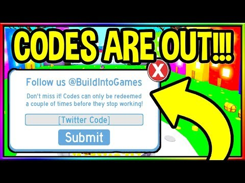 CODES IN PET SIMULATOR ROBLOX CODE UPDATE
