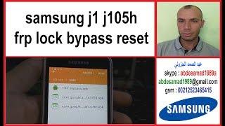 Samsung J1 Mini J105h Frp Lock Bypass Reset Google Account Remove