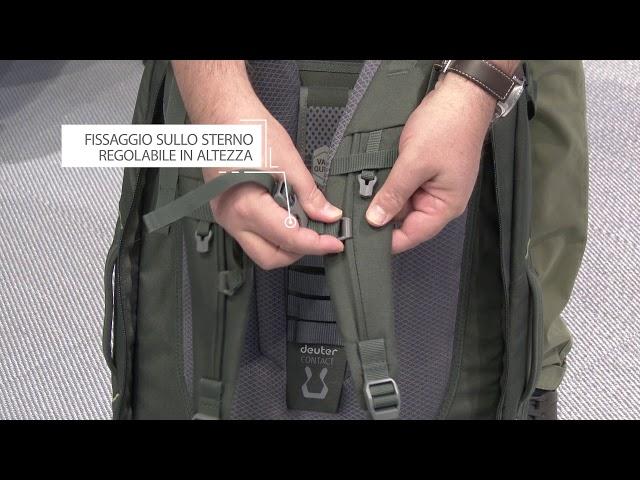 Видео Рюкзак Deuter Aviant Access Pro 60 black