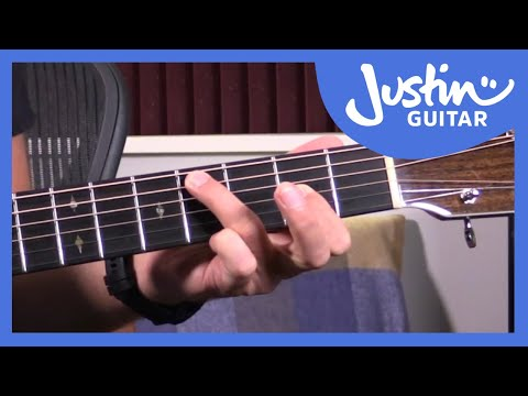 59 Second Guitar Lesson: Classic E Blues Shuffle (#001)