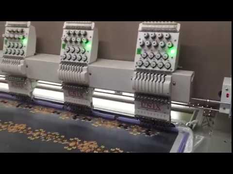 High Speed Embroidery Machine 1200 RPM