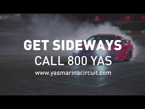 Yas Drift Night | Get In Your Smoke Machine