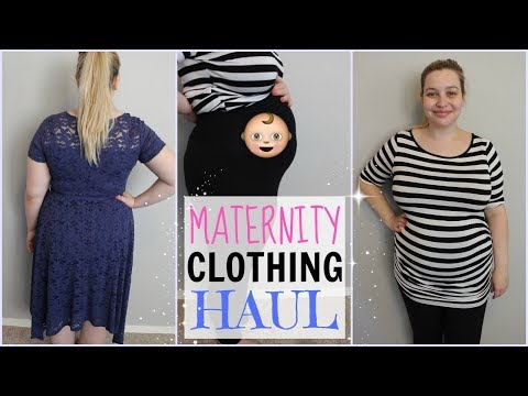 MATERNITY CLOTHING HAUL!!