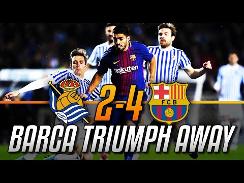 ►ANOETA'S CURSE IS NO MORE!!! Real Sociedad 2-4 Barcelona | MATCH REACTION | Post-Match Analysis