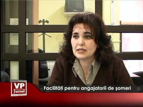 Facilităţi pentru angajatorii de şomeri