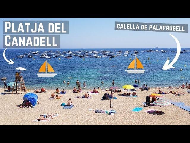 Platja del Canadell, Calella de Palafrugell, Costa Brava, España