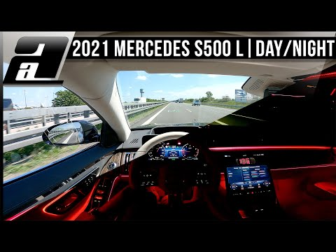 2021 Mercedes-Benz S500 L (457PS, 720Nm, V223) Day/Night POV Drive