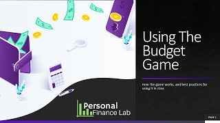 How To Use The Budget Game In Your Classes