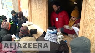 Greece: Refugees struggle as cold snap intensifies