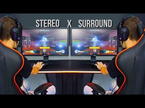QUAL HEADSET É MELHOR PARA GAMES? | Surround vs Stereo
