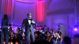 Jay Z Performing At Carnegie Hall With Nas And Alicia Keys