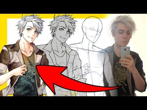 【How To Draw Yourself】as an Anime Character