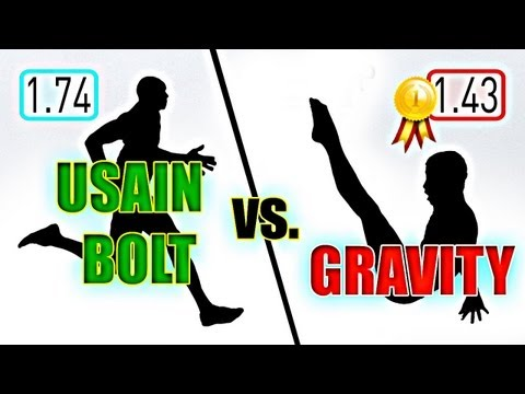 Is Usian Bolt Faster Than Gravity?