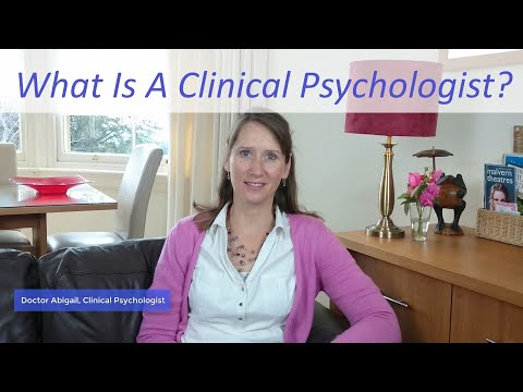 Introduction to Dr Abigail - What is a Clinical Psychologist?