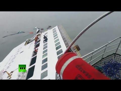 Sobrevivientes del naufragio en Corea del Sur narran experiencia