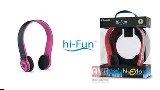 hi-Edo Le prime cuffie con Microfono Bluetooth di hi-Fun - AVRMagazine.com