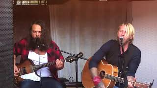 Jay Smith - Ghosts of Mississippi LIVE with Mattias Tell (Cover by The Steeldrivers)