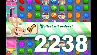 Candy Crush Saga Level 2238 (No boosters)