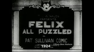 Felix The Cat All Puzzled - 1924 - Video Youtube
