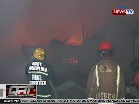 QRT: 300 bahay sa Makati City, natupok; 400 pamilya, nasunugan