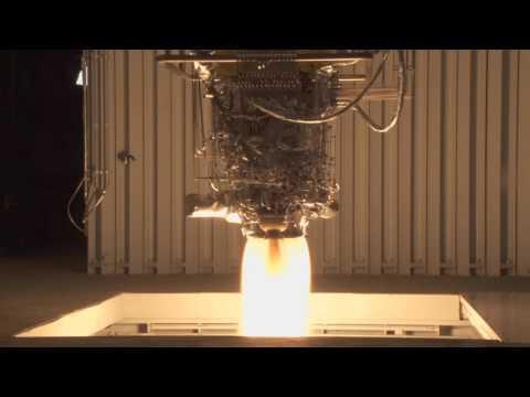 한국형발사체 7톤급 액체엔진 시험모델 1호기 연소시험(100초) 근접영상
