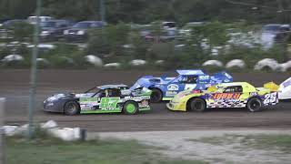 Pro Stock Heat Race #1 At Mount Pleasant Speedway, Michigan On 08-07-2020!