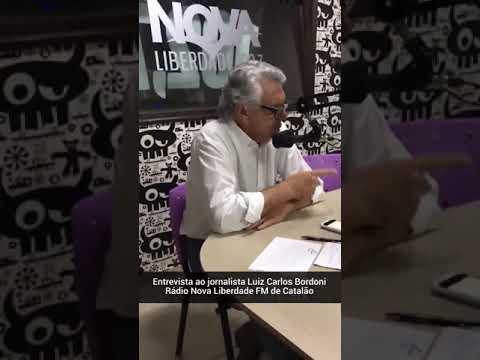 GOVERNADOR RONALDO CAIADO FAZ CRÍTICAS A MARCONI PERILLO EM CATALÃO (20/08/2019)