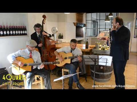 4 Quarti Gypsy Jazz Quartetto Jazz/Swing Manouche. Roma Musiqua