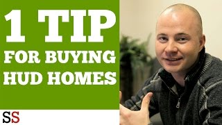 1 Tip for Buying HUD Homes