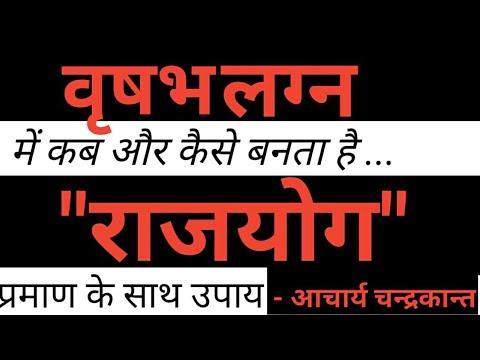 Vrishabha lagna kundli in hindi | Rajyog Kundli in Hindi